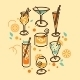 Cocktail Set - GraphicRiver Item for Sale