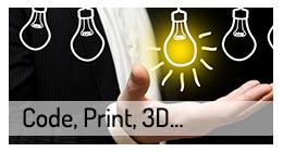 Code, Print, 3D