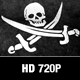 Pirate Flag Motion Loop - VideoHive Item for Sale