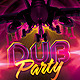 Dub Party Flyer Template - GraphicRiver Item for Sale