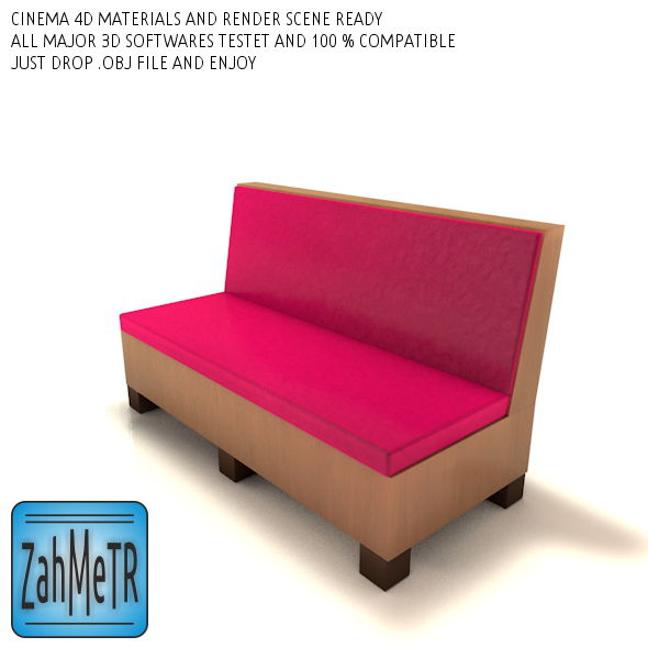Mini Sofa Low Poly ( 0 ) - 3DOcean Item for Sale