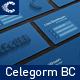 Celegorm - Flat and Retro Creative Business Card - GraphicRiver Item for Sale