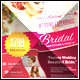 Wedding Bridal Hair Stylist/Make up Flyer Template - GraphicRiver Item for Sale