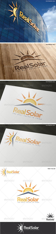 Solar Logo Template v2 - Abstract Logo Templates