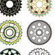 Set of Colorful Gears - GraphicRiver Item for Sale