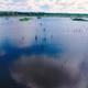Aerial Look on Swamp Lake - VideoHive Item for Sale