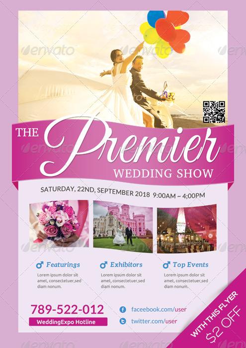 Wedding Expo/Show Flyer Template II
