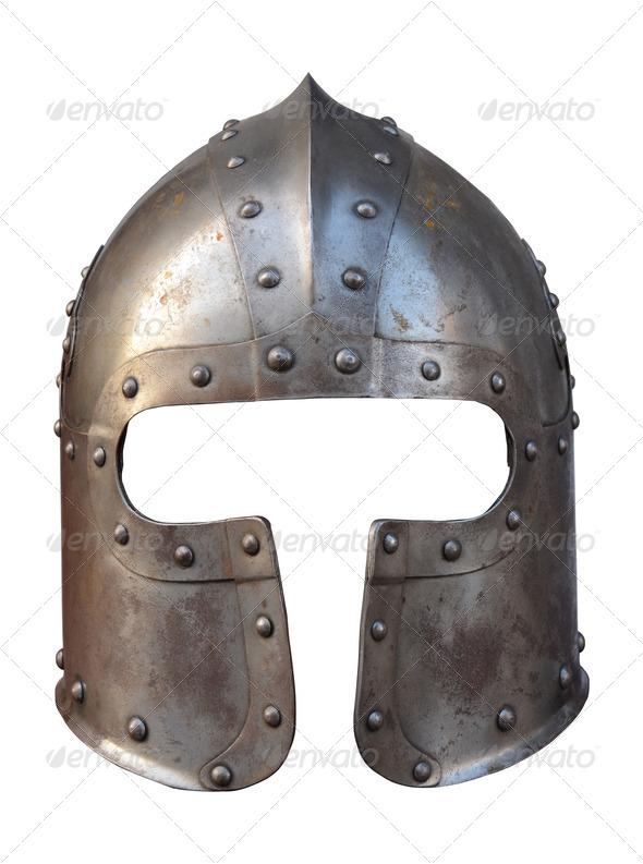 Armour helmet - Stock Photo - Images