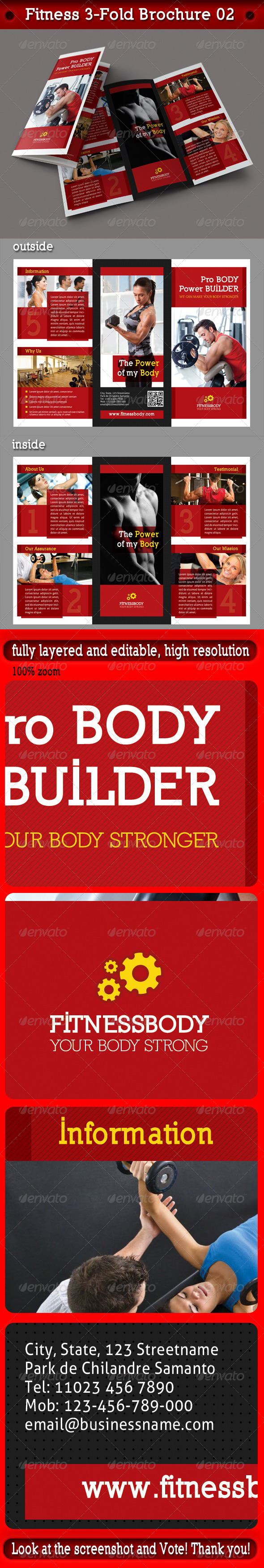 Fitness 3-Fold Brochure 02 - Corporate Brochures