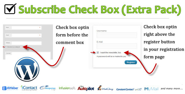 Subscribe Check Box - CodeCanyon Item for Sale