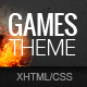 GamesTheme | Premium Non-responsive Site Template - ThemeForest Item for Sale