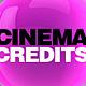 Cinema Credits - VideoHive Item for Sale