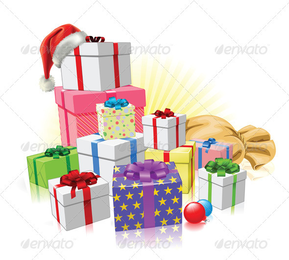 Christmas gifts Santa concept - Christmas Seasons/Holidays