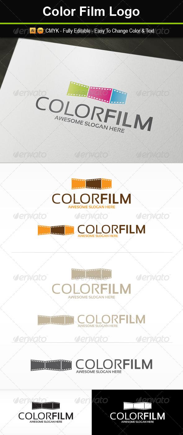 Color Film Logo - Symbols Logo Templates