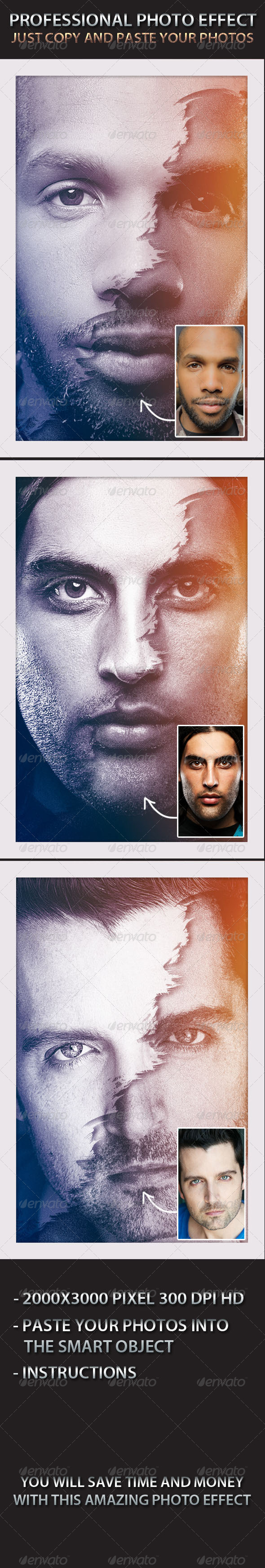 Photo Effect - Photo Template - Artistic Photo Templates