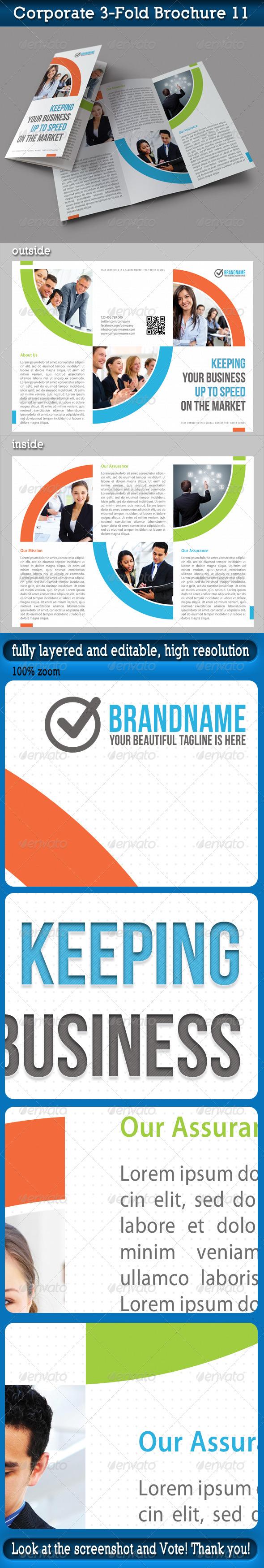 Corporate 3-Fold Brochure 11 - Corporate Brochures