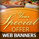 Catering Restaurant Web Banners - GraphicRiver Item for Sale