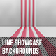 Line Showcase Backgrounds - GraphicRiver Item for Sale