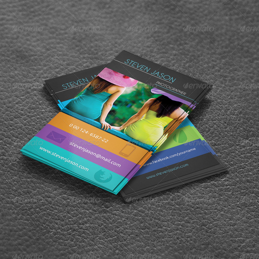 Social Media Business Card No 2 by Scopulus | GraphicRiver