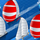 Isometric Sail Ships in Navigation in Front View - GraphicRiver Item for Sale