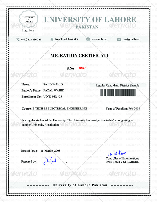 Migration certificate by mehrodesigns graphicriver 01migration certificateg 02migration yelopaper Choice Image