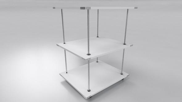 Office Deposit Table - 3DOcean Item for Sale