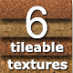 6 Tileable Cork Photoshop Texture Patterns - GraphicRiver Item for Sale