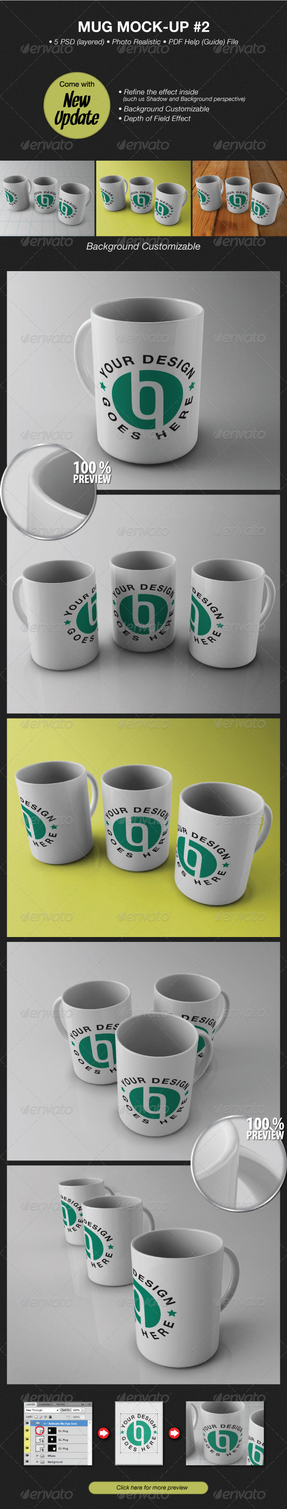 Mug Mockup #2 - Food and Drink Packaging