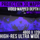 Wall Projection Mapping - 3D illusion Starter Kit (Impact Style) - VideoHive Item for Sale