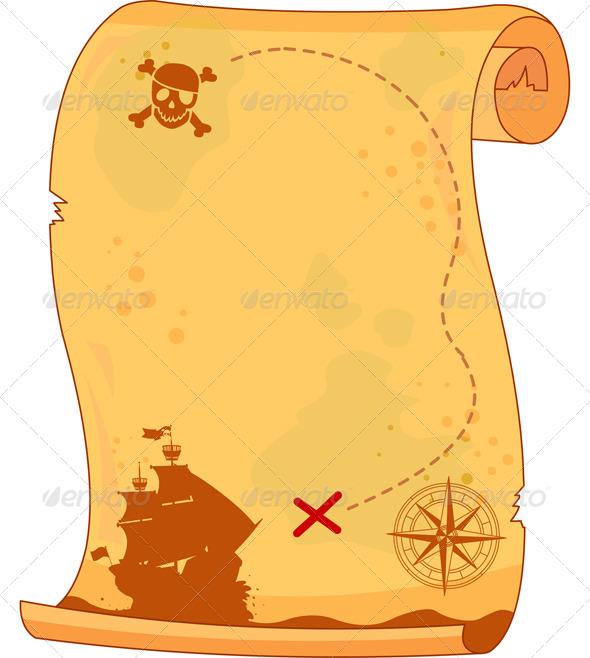 Pirate Map by Dazdraperma   GraphicRiver