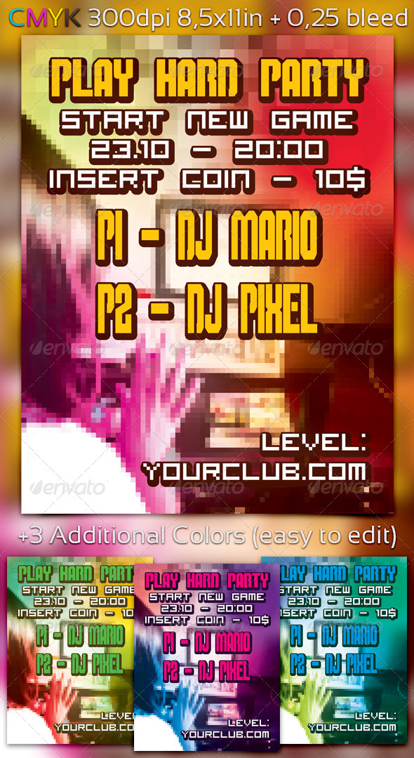Play Hard Party - Clubs & Parties Events
