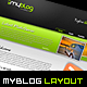 MyBlog Unique Layout Nulled