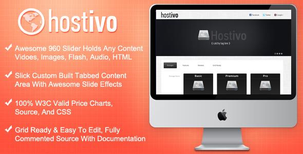 Free Download Hostivo Hosting Landing Page Nulled Latest Version