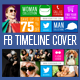 Facebook Fan Page Timeline Cover - Metro Style - GraphicRiver Item for Sale