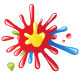 Colorful Splashes - GraphicRiver Item for Sale