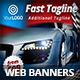 Car & Moto Shop Web Banners - GraphicRiver Item for Sale