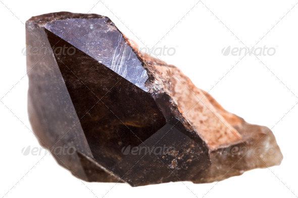 Morion mineral - Stock Photo - Images
