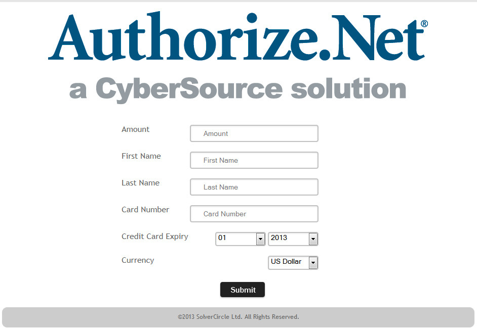 Authorize Net Payment Gateway For Asp Net By Wpproducts