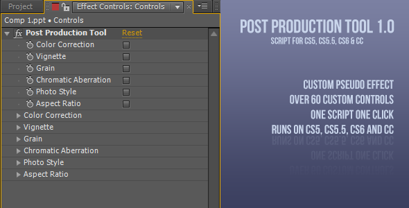 Post Production Tool 1.0v Download Free