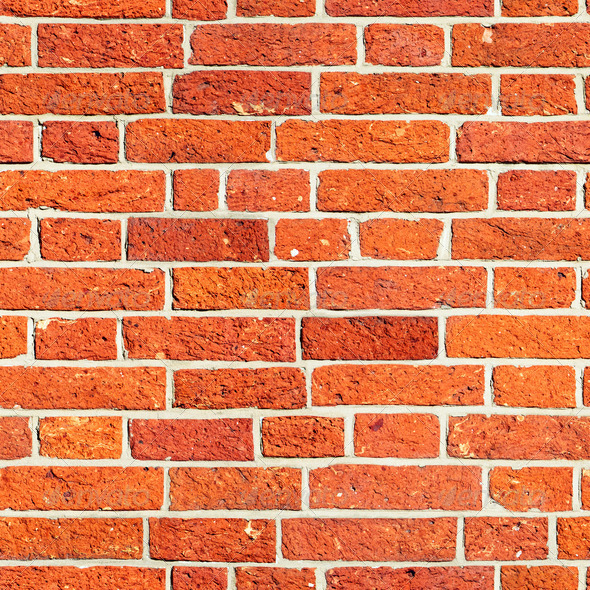 Red Brick Wall Seamless Texture Stock Photo Images