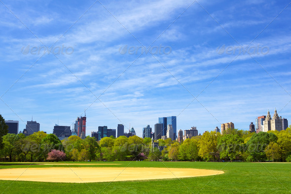 Central Park - Stock Photo - Images