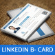 LinkedIn Social Network Business Card - GraphicRiver Item for Sale
