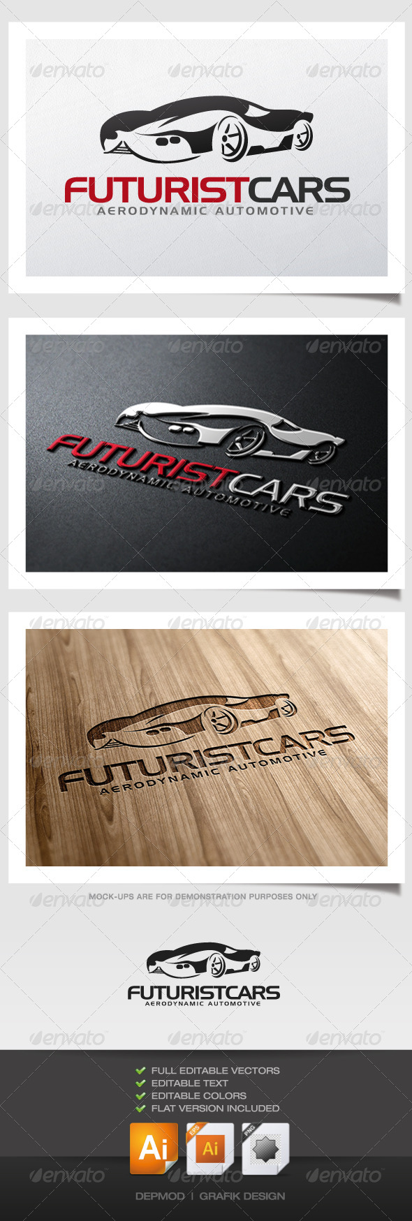 Futurist Cars Logo