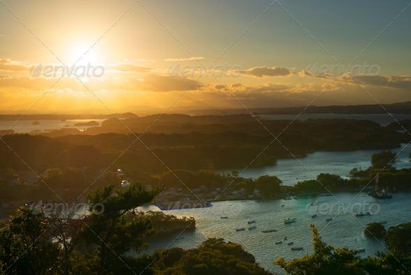 Matsushima, Japan Landscape - Stock Photo - Images