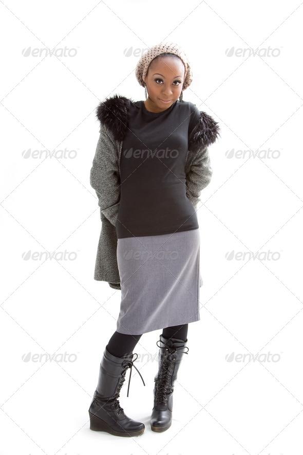 Winter fashion - Stock Photo - Images