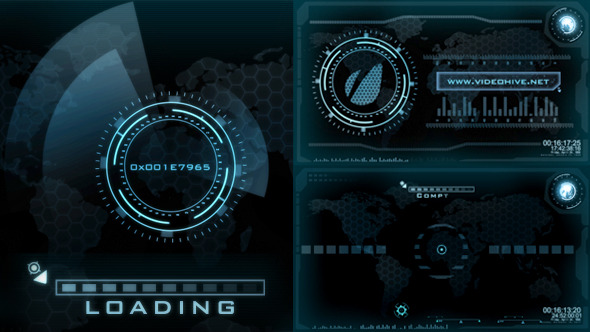 Hi Tech Loading Screen Logo Reveal By Cryvfx Videohive