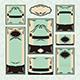 Set of Floral Wedding Cards - GraphicRiver Item for Sale