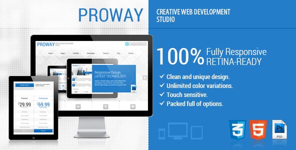 ProWay – Responsive Multipurpose HTML5 Template