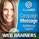 Multipurpose Business Campaign Web Banners. - GraphicRiver Item for Sale