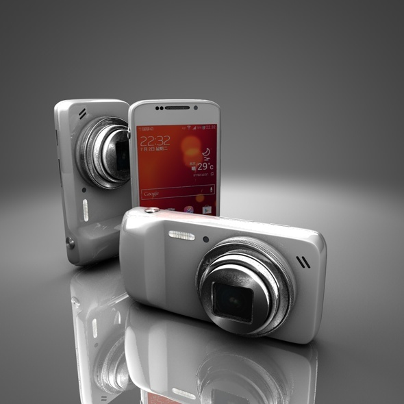 Samsung Galaxy S 4 Zoom - 3DOcean Item for Sale